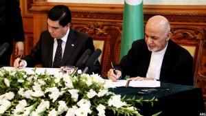 امضای تفاهمنامه دوجانبه میان افغانستان و ترکمنستان