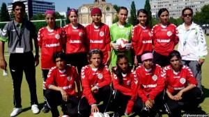 Afghan women football team
