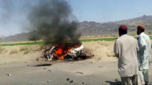 Akhtar Mansour's dead