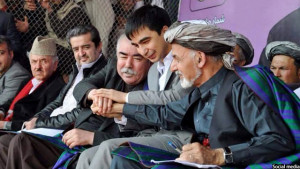 Gen Dostum and Pres. Ghani