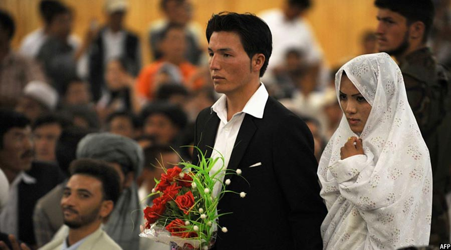 wedding in Afghanistan