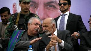 عبدالرشید دوستم معاون نخست ریاست جمهوری که رهبری حزب جنبش ملی افغانستان را نیز بر عهده دارد
