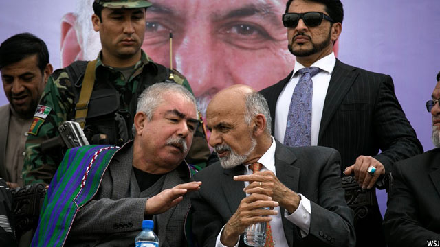 Dostum and Ghani