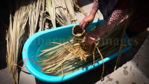 Afghan Basket weaver