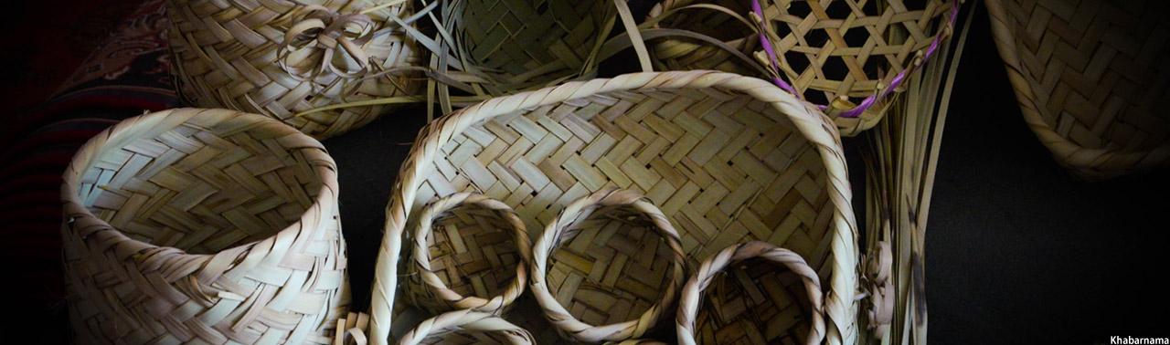 Afghan-basket-weaver