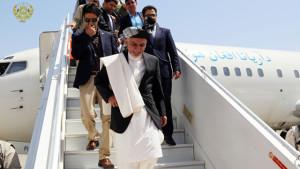 رییس جمهور در آستانه افتتاح بند سلما از راه آهن هرات-چشت نیز دیدن کرد