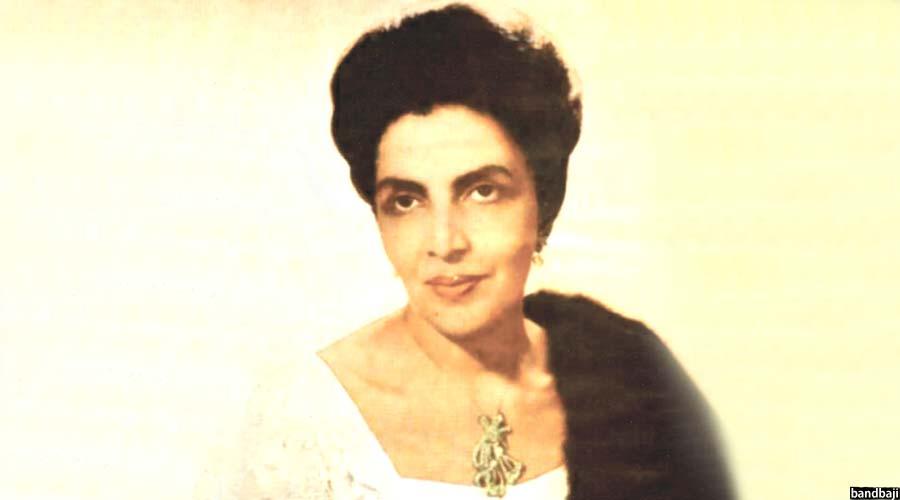 تصویری از ملکه حمیرا