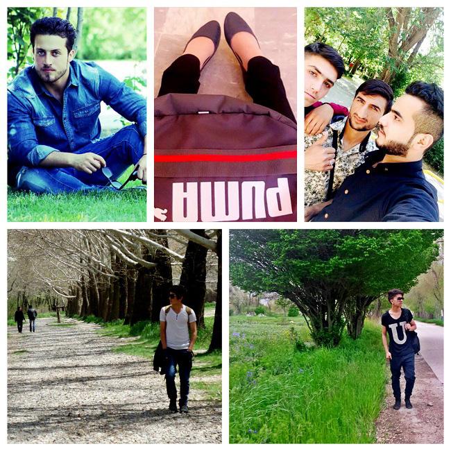 نگاره های از فیشن دانشجویان دانشگاه کابل