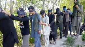 تصویر منتشر شده از ربوده شدگان در کندز