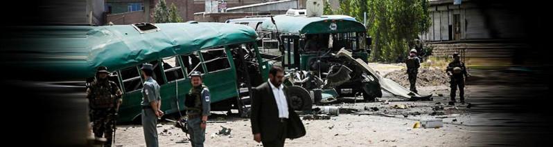 به پیشواز عید فطر، حملات انتحاری جان ۳۰ سرباز پولیس را گرفت