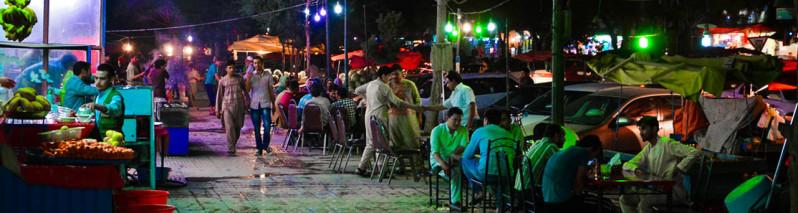 پهلوهای زندگی شب های کابل در رمضان