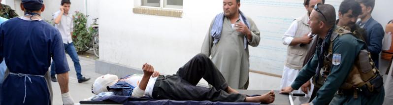 ۱۰ هزار قربانی در سال ۱۳۹۵؛ کمیسیون حقوق بشر نگران تلفات غیرنظامیان افغان است