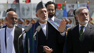 Karzai and Abdullah