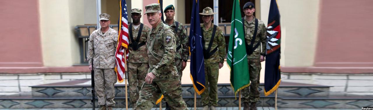 فرمانده ماموریت حمایت قاطع: نمیگذاریم طالبان پیروز شوند