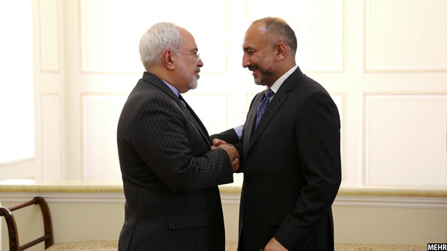 Atmar-with-Irani-Foreign-Minister