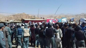 Bamyan-Protest