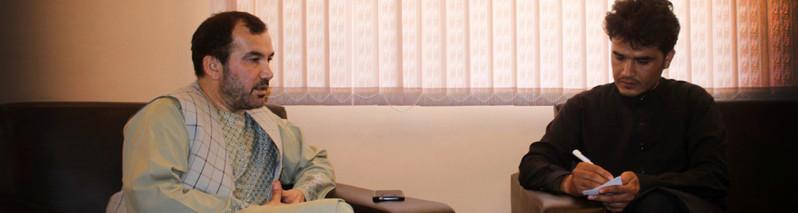 توسعه ی زیربنایی بندها؛ گفتگوی خبرنامه با والی ولایت فراه در باره بند بخش آباد