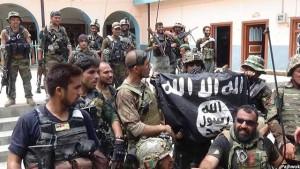 نیروهای امنیتی افغانستان پس از تصفیه یکی از مراکز بزرگ داعش در ولایت ننگرهار این کشور