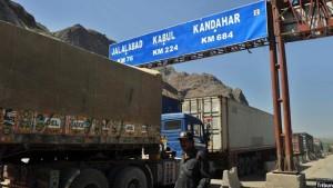 به گفتهی مقامهای افغانستان، واردات افغانستان از پاکستان 500 میلیون دالر کاهش یافته است