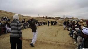 سنگگیرک بیشتر در مناطق مرکزی و شمالی افغانستان بازی می شود
