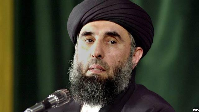 حکمتیار رهبر حزب اسلامی