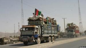 Loaded-trucks