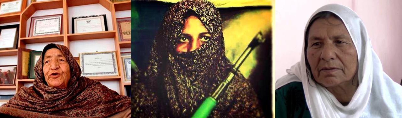 زنان مبارز؛ ۴ بانوی جنگی و فرهنگی در ۴ ولایت افغانستان
