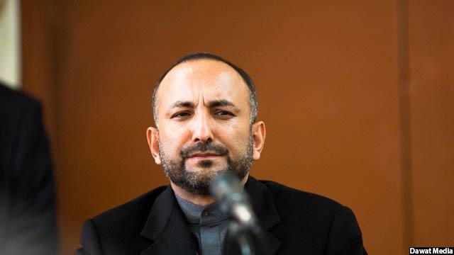حنیف اتمر مشاور امنیت ملی رییس جمهور افغانستان