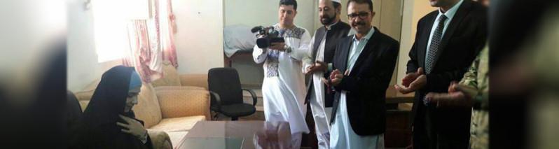 خوشخبری؛ نخستین دادستان زن دریک ولایت نا آرام شروع به کار کرد