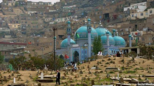 زیارتگاه سخی کابل، چند روز قبل آماج حمله تروریستی قرارگرفتهبود
