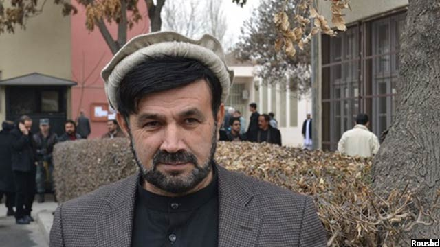 میرداد نجرابی رییس کمیسیون امنیت داخلی مجلس نمایندگان افغانستان