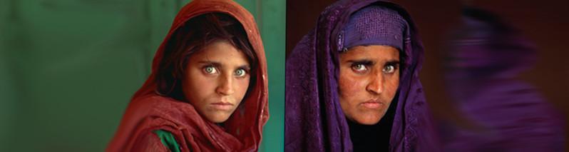 بانوی رنگین چشم افغانستان به زودی آزاد میشود