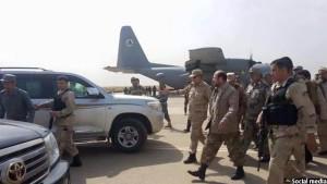 مقامات ارشد نظامی افغانستان پس از بازپسگیری شهر قندز از دست طالبان به این ولایت سفر کردند