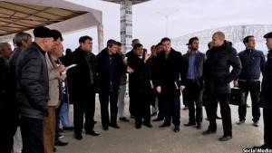 مقامات افغانستان-ترکمنستان حین حرکت این قطار