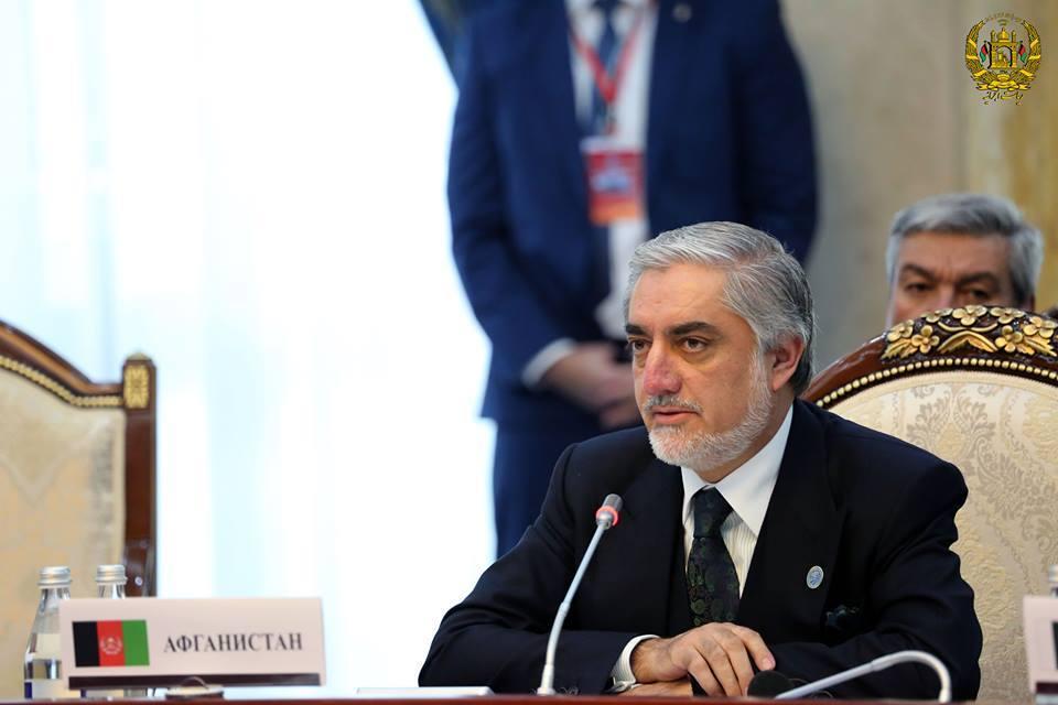 دکتر عبدالله رییس اجرایی افغانستان در 15مین اجلاس شانگهای