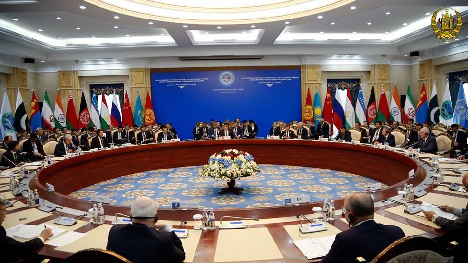 15مین اجلاس شانگهای در قرغیزستان برگزار شده است