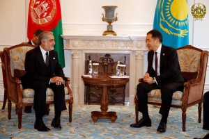 afghanista-in-shanghai-summit with Qazaq