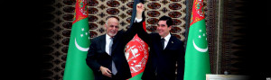 afghanistan-giving-turkmanistan-presidents