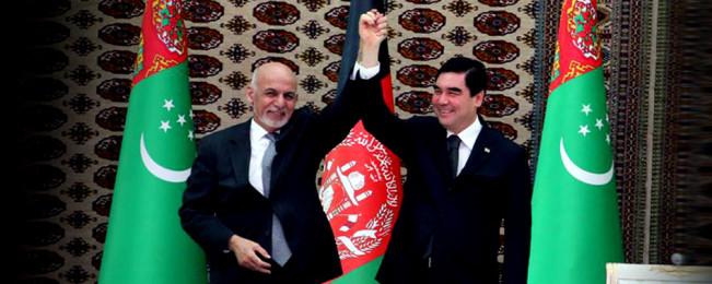افتتاح راه لاجورد؛ آغاز توسعه روابط تجاری افغانستان و ترکمنستان