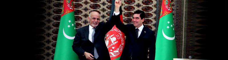 افغانستان و ترکمنستان؛ روابط رو به گسترش و توجه ویژه اشرف غنی به عشقآباد
