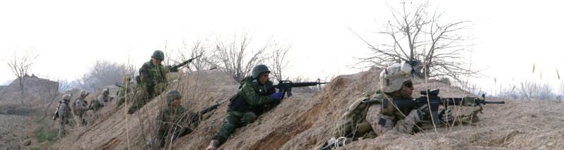 ۲۴ ساعت در افغانستان؛ عملیات گسترده، نابودی ۹۰ تروریست و جنگ در ۹ ولایت
