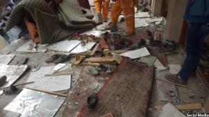 قربانیان این حمله شامل کودکان و زنان نیز میباشند