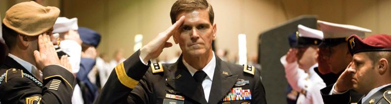 گفتوگو با جنرالی که رهبری نابودی داعش را دارد