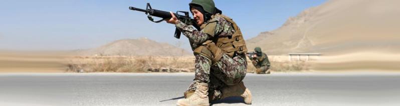 کولاک چشم بادامیها؛ استقبال گسترده دختران هزاره از خدمت در ارتش افغانستان