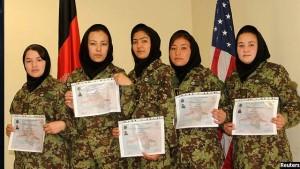 فارغان دوره آموزشی نیروی هوایی افغانستان