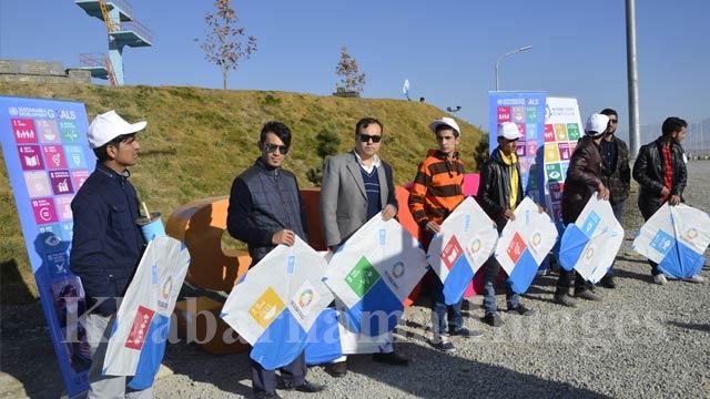 این جشنواره جز برنامهی انکشاف پایدار برنامه توسعهیی سازمان ملل در افغانستان است