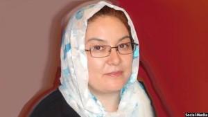 ملیحه حسن یکی از اعضای کمیسیون مستقل انتخابات افغانستان