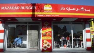 یکی از رستوران های فست فود در کابل