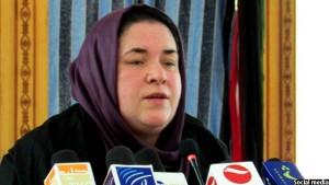 نسرین اوریاخیل وزیر کار، امور اجتماعی، شهدا و معلولین افغانستان