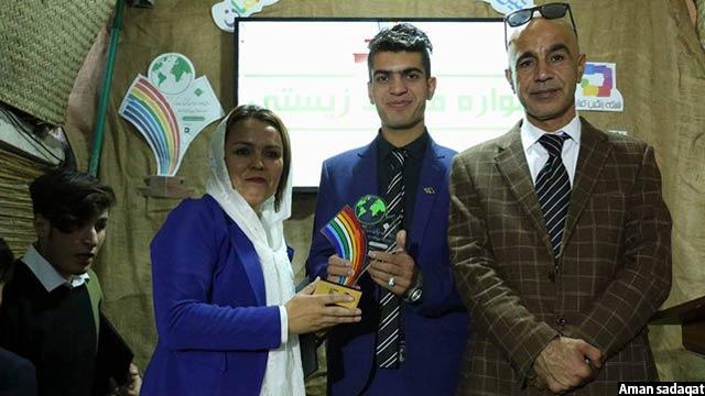 در این جشنواره مقامهای ریاست محیط زیست نیز حضور داشتند